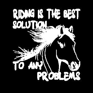 Ridind is the Best Solution Reiten Pferd Ponyliebe