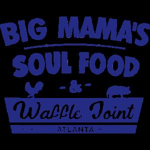 Große Mama S Soul Food Zeichen Vintage Diner
