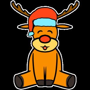 Weihnachten Rudolf Rentier