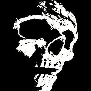 Horror Skull Face