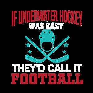 Wenn Unterwasser-Hockey einfach wäre, würde man es