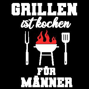 Grillen kochen Grill Grillmeister Männer Geschenk