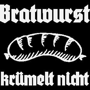 Bratwurst krümelt nicht Grillen Grillmeister BBQ