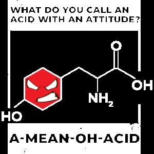 Nerdy Chemie A Mean Oh Acid Science