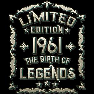 Vintage 1961 60 Geburtstag
