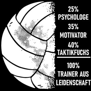Volleyballtrainer aus Leidenschaft Volleyball