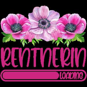 Rentnerin Loading Rente Ruhestand Rentner Blumen