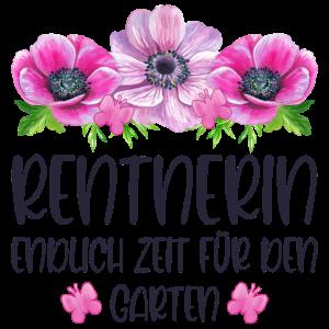 Rentnerin Endlich Zeit für den Garten Rente Blumen