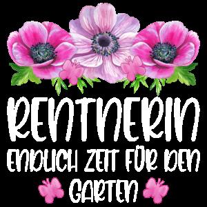 Rentnerin Ruhestand Endlich Zeit für den Garten