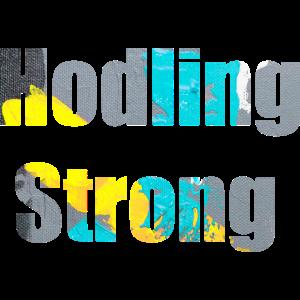 Hodling Strong krypto gaek