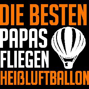 Heißluftballon Papa Ballonfahrer Vater Vatertag
