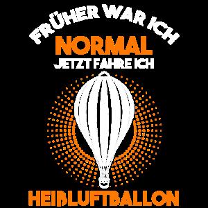 Ballonfahrer Heißluftballon Heissluftballon Pilot