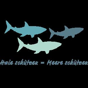 Haie schuetzen Meere schuetzen