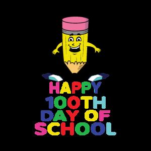 Happy 100 th Day of School Graduation Kids