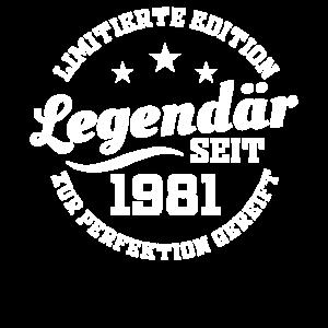40 Geburtstag Geburtsjahr 1981 Jahrgang