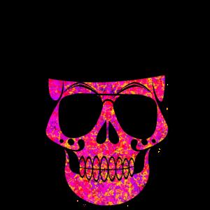 Skull in Sun