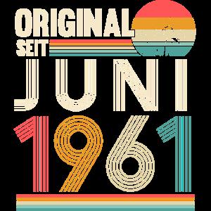 Jahrgang 1961 geboren Original seit Juni 1961