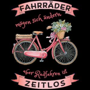 Fahrrad Radfahren zeitlos