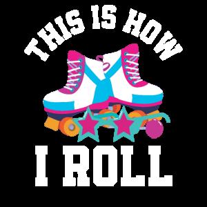 Rollschuhe 1990er 90er Rollkunst Jahre Geschenk