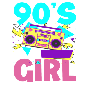 90er Jahre Mädchen