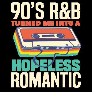 90er Jahre RnB Retro Kasetten Musik Geschenk