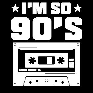 90er Jahre 1990 Nostalgie Kindheit Musik Geschenk