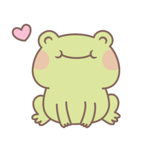 Süße Happy Little Frog Doodle