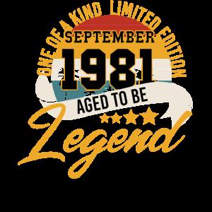 September 1981 Geschenk