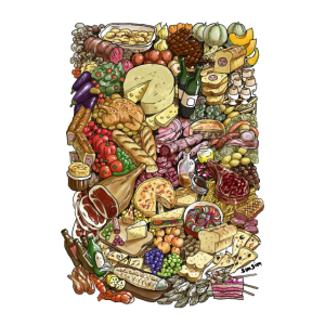 Foods poster
