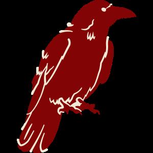 Krähe Vogel Rabe Tier Vögel Vektor Design