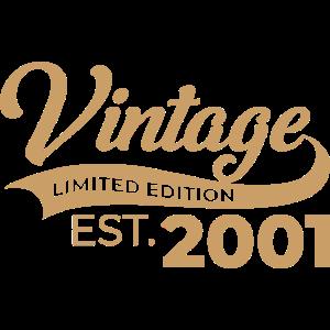 Vintage limited edition Geschenk Geburtstag Lustig