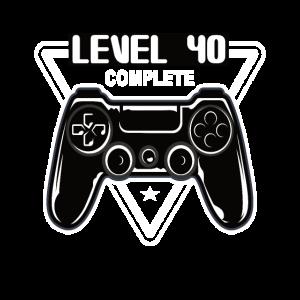 40 Geburtstag Gamer