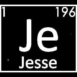 Jesse Name Chemie Elemente Männer Namen