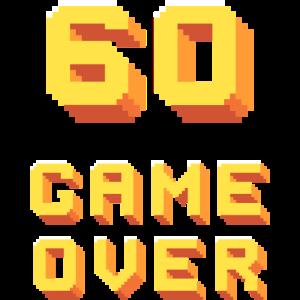 60ter Geburtstag - Pixelart