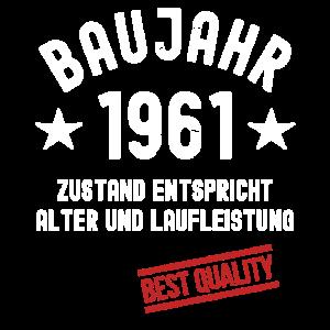 Jahrgang 1961 Baujahr Geburtstag