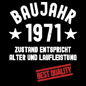 Jahrgang 1971 Baujahr Geburtstag