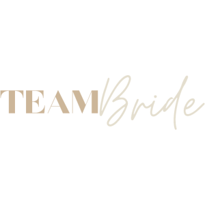 JGA Junggesellinnenabschied Team Bride Beige