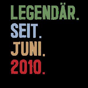 Legendär seit Juni Jahrgang Geburtstag Party