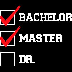 Master Abschluss Doktorand Studium