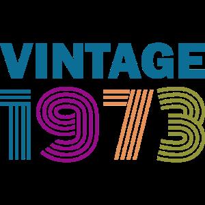 Vintage 1973 Geschenk Geburtstag Lustig Party
