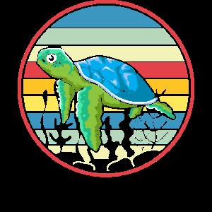 Meerestiere Schildkröte Geschenk