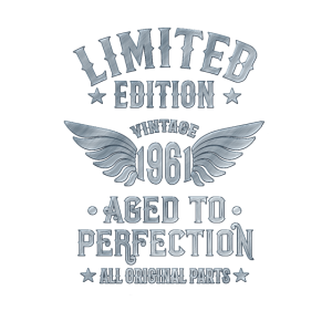 60 Jahre Alt 1961 Limited edition