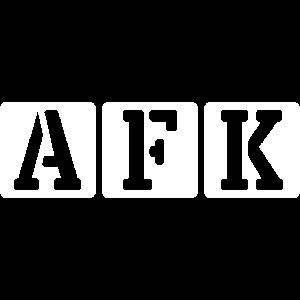 AFK Weg von der Tastatur