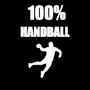 100% handball