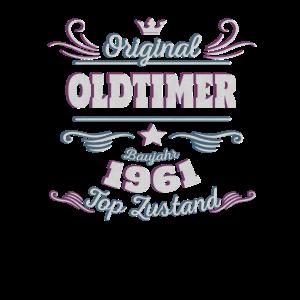 Original Oldtimer 1961 60 Geburtstag