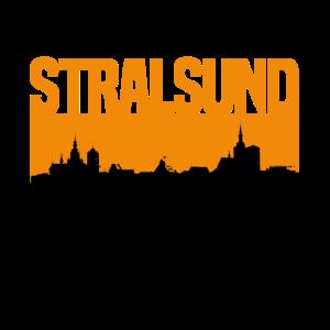 stralsund orange Silhouette