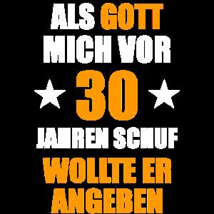 30. Geburtstag 30