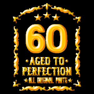 Geschenk zum 60. Geburtstag - 60 Jahre Alt