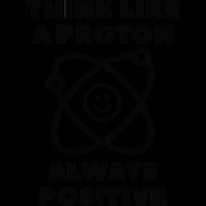 Denken Sie wie ein Proton