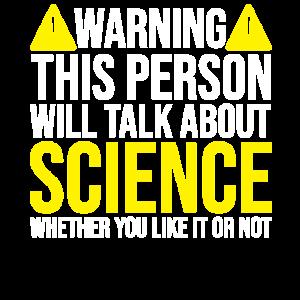 Wissenschaft Warning